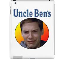 Tobey Maguire's Uncle Ben's iPad Case/Skin