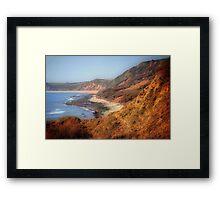 Westward Ho-Jurassic Coast Framed Print