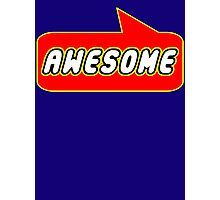 Awesome by Bubble-Tees.com Photographic Print