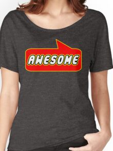 Awesome by Bubble-Tees.com Women's Relaxed Fit T-Shirt