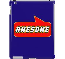 Awesome by Bubble-Tees.com iPad Case/Skin