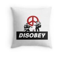 Banksy Throw Pillow