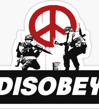 Banksy Sticker