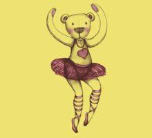 Ballerina Teddy Kids Tee