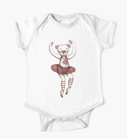 Ballerina Teddy One Piece - Short Sleeve
