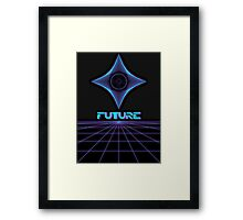 Future, Back in time Framed Print