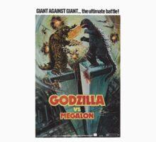 Godzilla Vs Megalon by tomatosoups