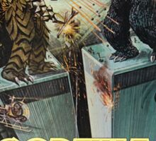 Godzilla Vs Megalon Sticker