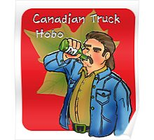 Canadian Truck Hobo Poster