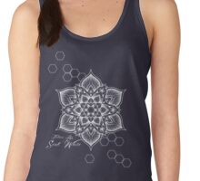 Tattoos by Scott White mandala design Women's Tank Top