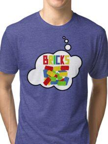 Bricks, Bubble-Tees.com Tri-blend T-Shirt