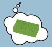 Green Brick, Bubble-Tees.com by Bubble-Tees