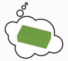 Green Brick, Bubble-Tees.com One Piece - Long Sleeve