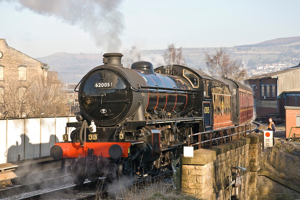 Keighley Steam by Tom  Holland