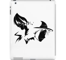 Shanks and Luffy  iPad Case/Skin