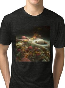 abstract corall reef background. Tri-blend T-Shirt