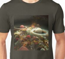 abstract corall reef background. Unisex T-Shirt