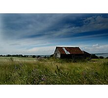 Abandoned Shed In Wrabness Field Photographic Print