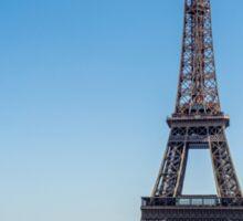 Eiffel Tower On A Sunny Day Sticker