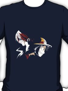 Luffy and Shanks ! Pirate Kings ! T-Shirt