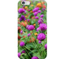 In a World of Mixed Flowers iPhone Case/Skin