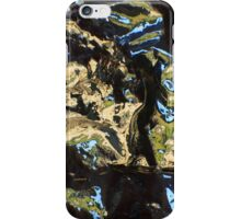 Silver Water Green iPhone Case/Skin