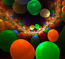 abstract background with bubbles. by Silversky2212