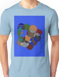 colourful rings Unisex T-Shirt