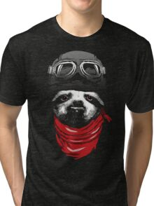 Adventure Sloth Tri-blend T-Shirt