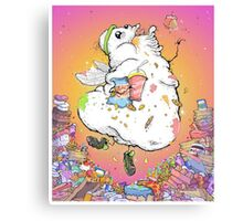 Angel of Gluttony! Canvas Print