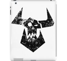 Ork Glyph Black iPad Case/Skin