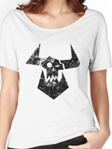 Ork Glyph Black Women's Relaxed Fit T-Shirt
