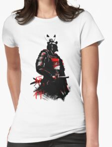 Shinigami Samurai Womens Fitted T-Shirt