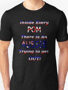 Pom vs Aussie T-Shirt T-Shirt
