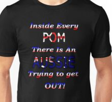 Pom vs Aussie T-Shirt Unisex T-Shirt
