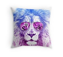 Tackle The Gazzle Says Mr. Lion Throw Pillow