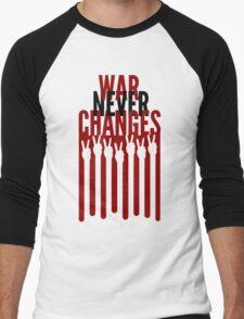 War Never Changes Men's Baseball ¾ T-Shirt