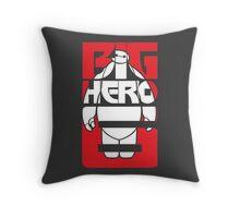 Fat Robot Buddy Throw Pillow