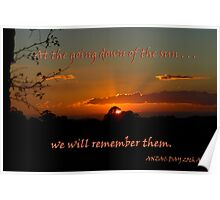 We will remember them ... Poster