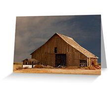 An Old Barn in Rural California Greeting Card
