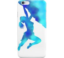 bouldering ecstacy (blue) iPhone Case/Skin