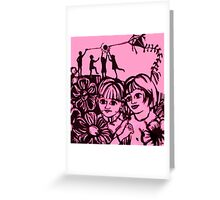 Beautiful Place in the Country Print Greeting Card