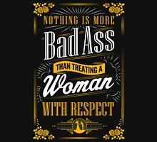Real Men Respect Women Mens V-Neck T-Shirt