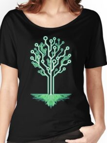 Tree of Technological Knowledge Women's Relaxed Fit T-Shirt