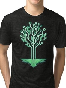 Tree of Technological Knowledge Tri-blend T-Shirt