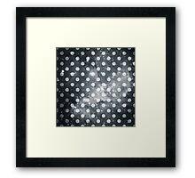 Polka Dot Universe Framed Print