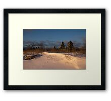 The Morning After the Snowstorm Framed Print