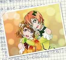 Rin & Hanayo (KiRa-KiRa Sensation edit) by alphavirginis