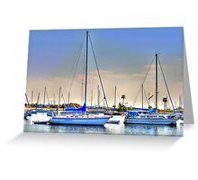 Yacht Basin Greeting Card