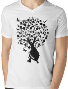 PR(L)AY Mens V-Neck T-Shirt